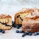 Maine Blueberry Sour Cream Coffee Cake