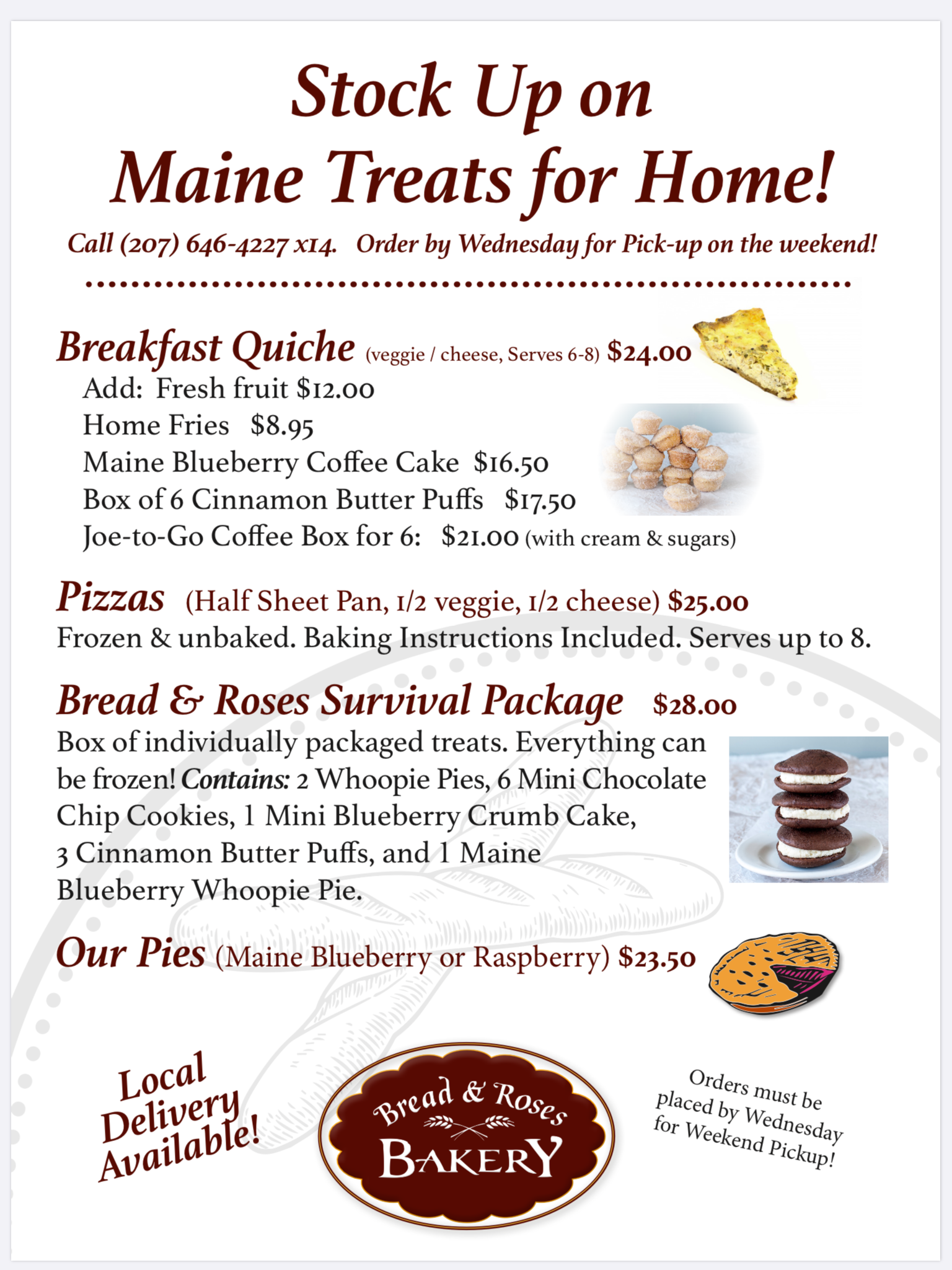 Stock Up on Maine Treats for Home!